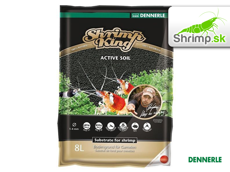 Dennerle Shrimp King Active Soil 8 l
