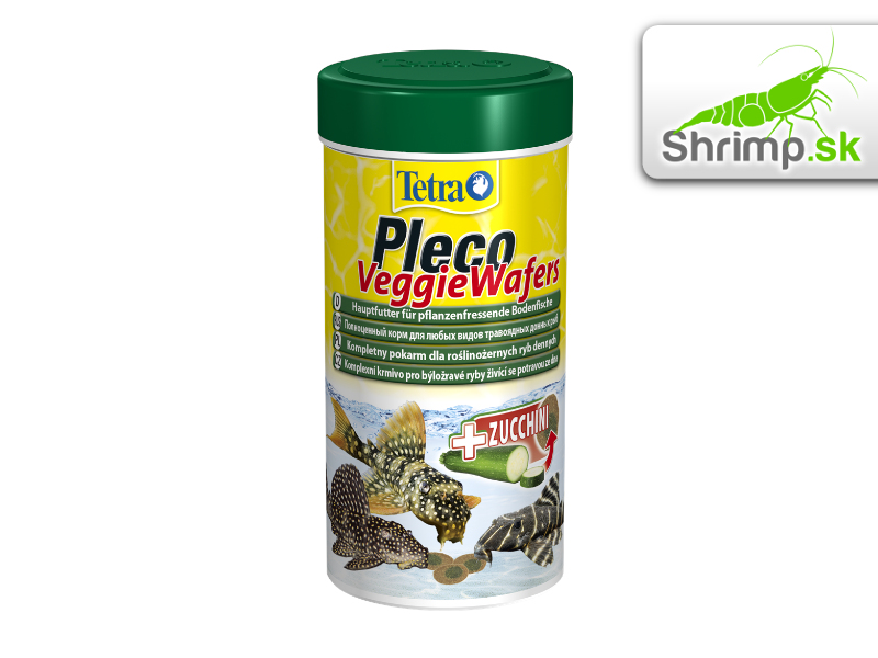 Tetra Pleco Veggie Wafers 250 ml / 110 g